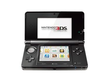 3DS Konsoll,  Sort